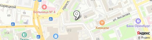 Промторгсервис на карте Оренбурга