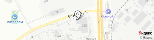 АТОМ на карте Оренбурга