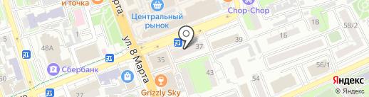 ФИНАНС ЛОМБАРД на карте Оренбурга