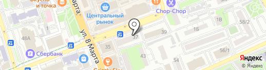 Новотроицкий мясокомбинат на карте Оренбурга