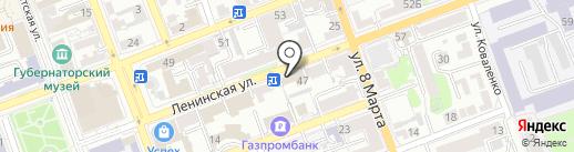 DОСТАВКА MIX на карте Оренбурга