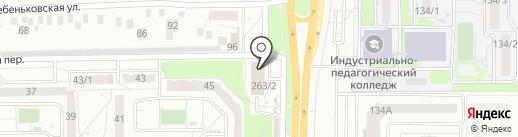 РИВ-ТРАНС на карте Оренбурга