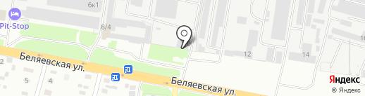 СтройТакси156.рф на карте Оренбурга