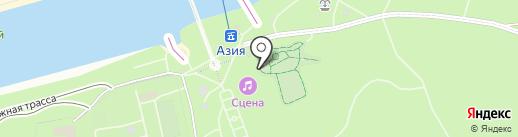 Arena club на карте Оренбурга