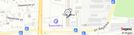 Город цветов на карте Оренбурга