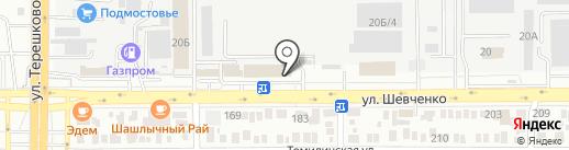 РСУ-3 на карте Оренбурга