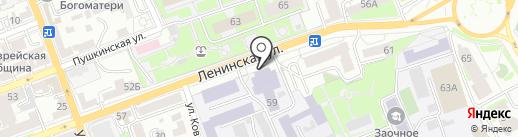 Оренбургский государственный аграрный университет на карте Оренбурга
