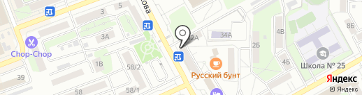 Travel Club на карте Оренбурга