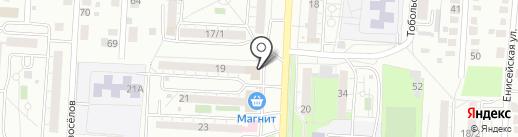 Леди Ди на карте Оренбурга
