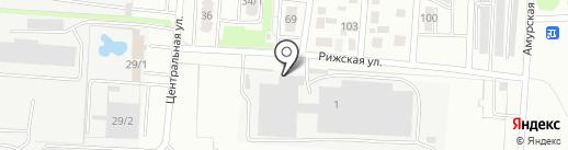 Шиномонтажная мастерская для грузовых автомобилей на карте Оренбурга