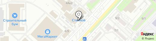 Торгово-монтажная компания на карте Оренбурга