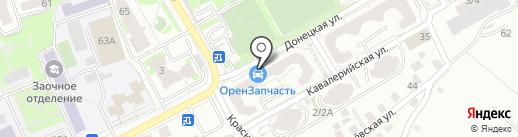 Нотариус Бородай Н.С. на карте Оренбурга