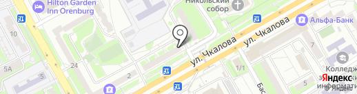 ЧестноДеньги на карте Оренбурга