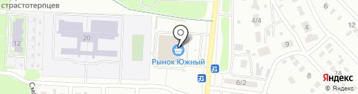 Ремонтная мастерская на карте Оренбурга