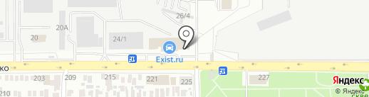 Аккумуляторный Центр Контакт на карте Оренбурга