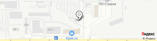 Пилот+ на карте Оренбурга