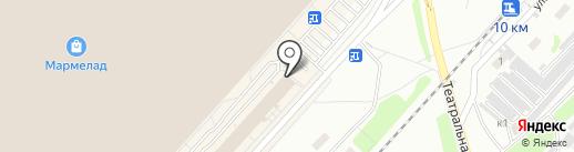 РУСПЛАСТ на карте Оренбурга