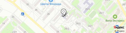 Федерация бокса Оренбургской области на карте Оренбурга