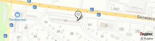90-59-90 на карте Оренбурга