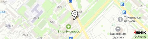 Магазин тканей Тимофеевой Оксаны на карте Оренбурга