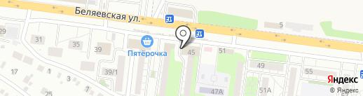 Анаит на карте Оренбурга