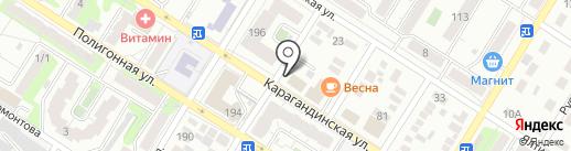 Знаток на карте Оренбурга