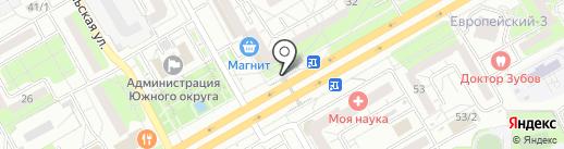 Горячий калач на карте Оренбурга