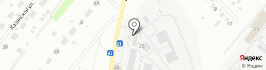 Четыре мастера на карте Оренбурга