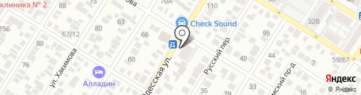Кафетерий на карте Оренбурга