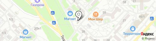 Продукты из Казахстана на карте Оренбурга