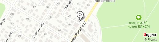 Барбос на карте Оренбурга