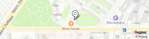 Оренбургская экспертиза документов на карте Оренбурга