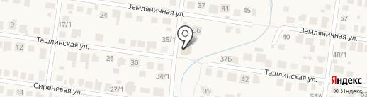 Берега на карте Весеннего