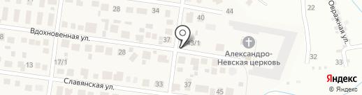 Продуктовый павильон на карте Весеннего