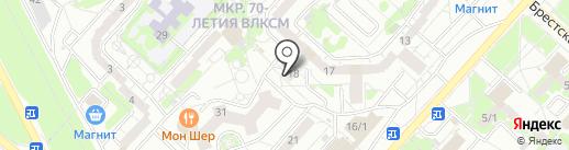 Вкусная лавка на карте Оренбурга
