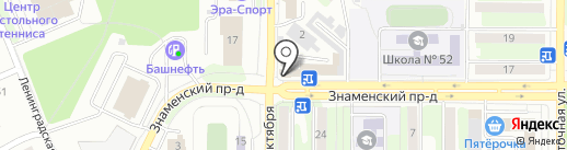 Одноклассники на карте Оренбурга