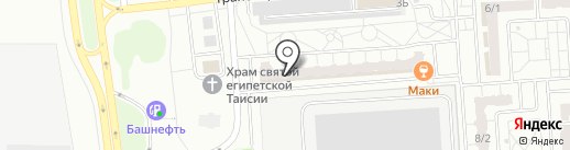 Эхо на карте Оренбурга