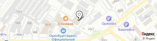 ИНФОРМАЦИОННЫЙ СЕРВИС на карте Оренбурга