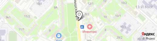 Избушка-кормушка на карте Оренбурга