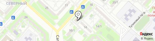 Соблазн на карте Оренбурга