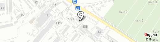 Эльбрус на карте Оренбурга