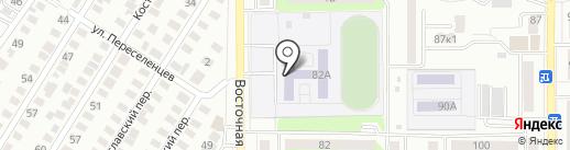 Автошкола на карте Оренбурга