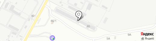 Кушкуль на карте Оренбурга