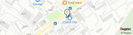 Альфа Трейд на карте Оренбурга
