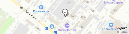 АРМ-ПРО АВТОМАТИКС на карте Оренбурга