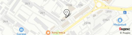 РосАвтоПрокат на карте Оренбурга