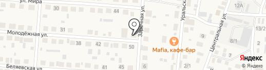 Сауна на карте Весеннего