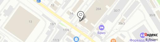 Калитка на карте Оренбурга