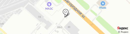 Памятники56 на карте Оренбурга