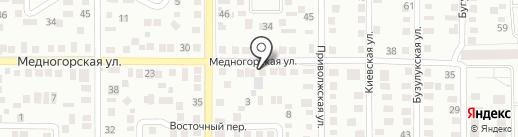 ТВК на карте Оренбурга